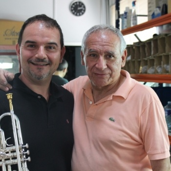 Germán Asensi y Vicente Honorato