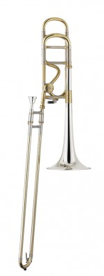 stomvi trombone titan 1screw Bb f lacquered silverplated