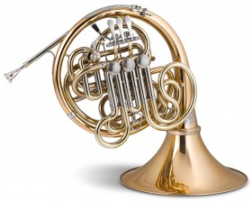titan cinco goldbrass french horn stomvi
