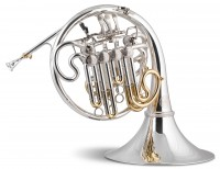 titan siete descant silver french horn stomvi